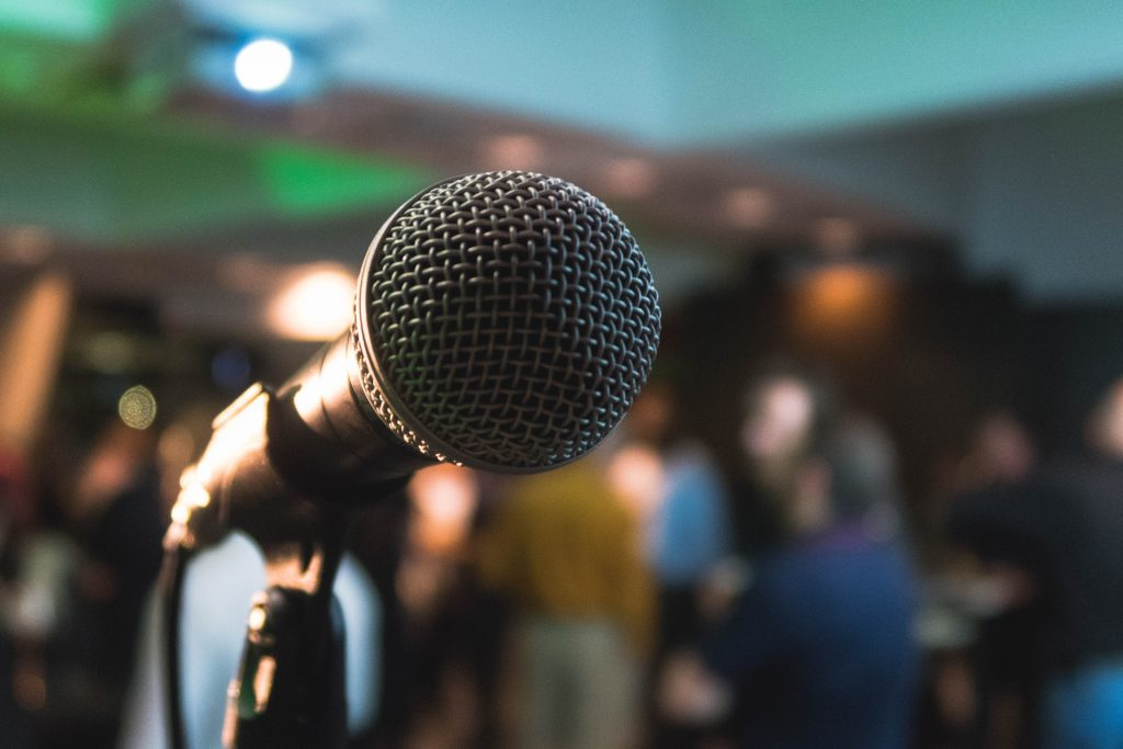 Microphone- Russell Westcott Blog