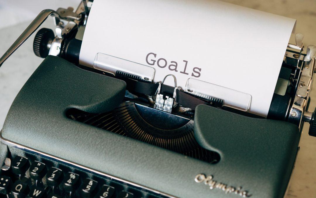 Don't Be Afraid To Set Big Goals